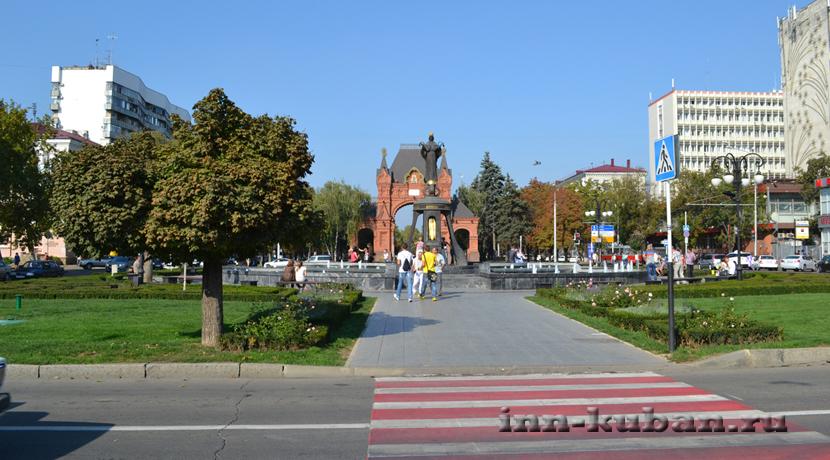 фото центра Краснодара