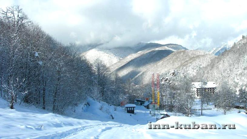 лыжный курорт в Красной Поляне
