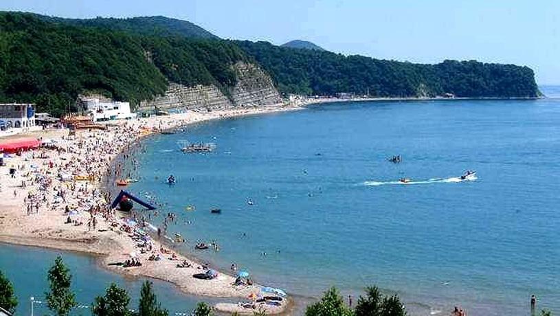 пляж Джубги
