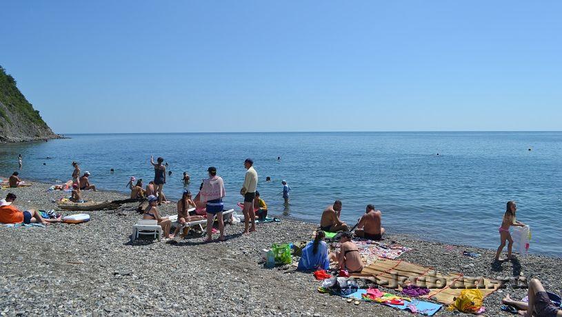 пляж в Кринице, Черное море
