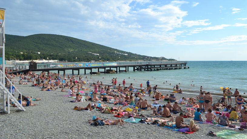 Кабардинка, пляж