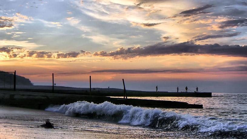 Море в Дагомысе