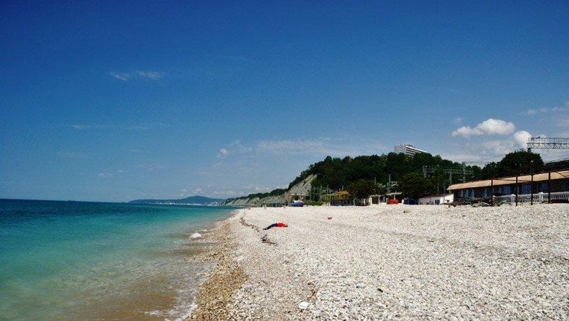 пляж в Солониках
