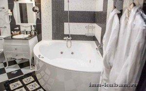 ванна в отеле1
