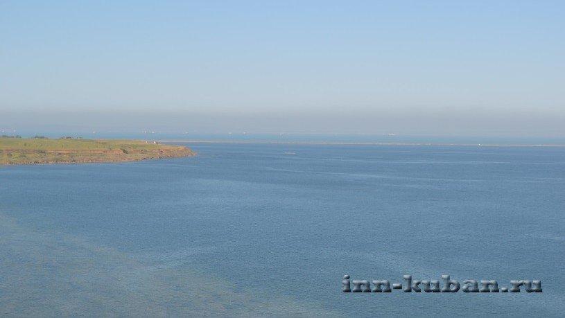 Вид на Азовское море