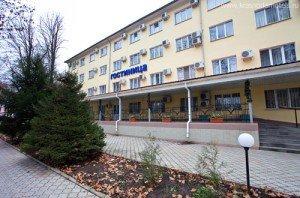 фасад аэропортовой гостиницы