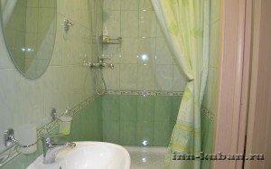 ванная комната отеля
