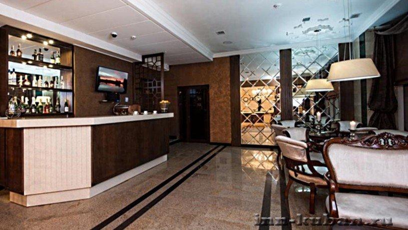 Лобби в отеле Моцарт, Краснодар