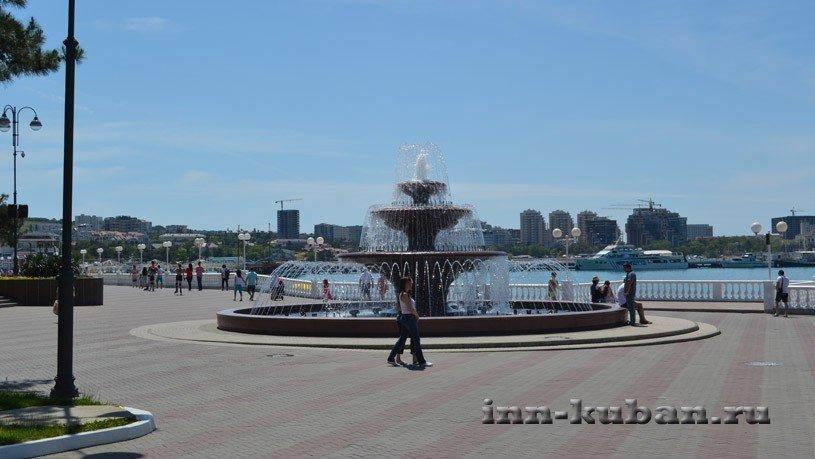 фонтан в Геленджике