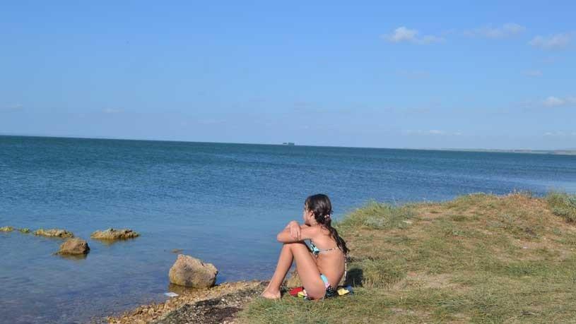 у Азовского моря