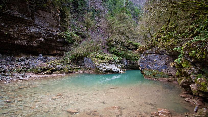 водолей база отдыха гуамское ущелье цены Базы отдыха в Гуамке, термальные источники, Гуамское.