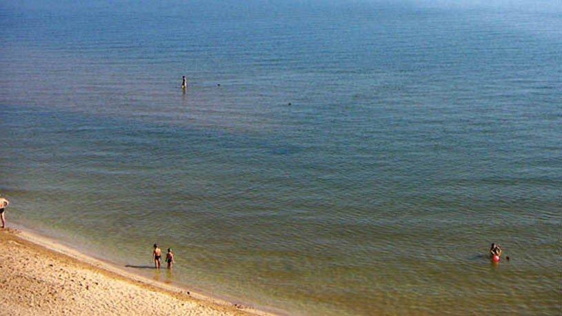 Море в Кучугурах