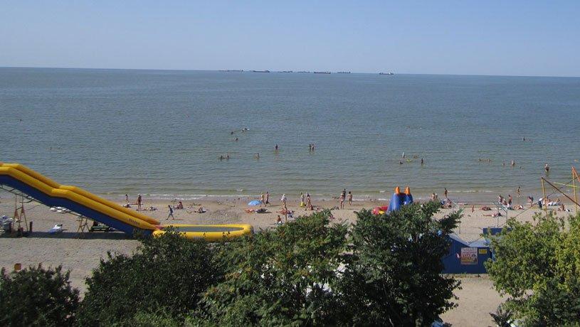пляж Ейска