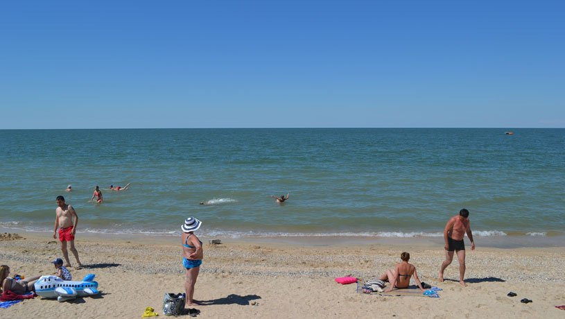морской отдых в Голубицкой